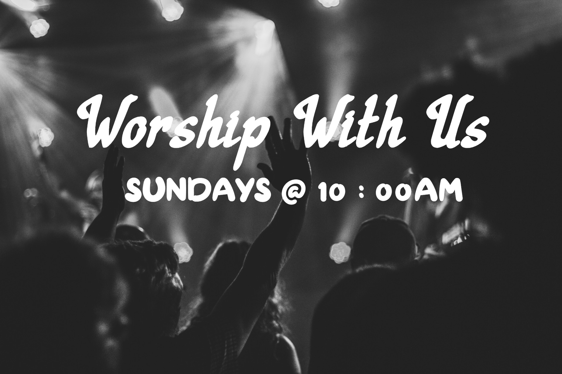 Worship With Us - The Redeemed Christian Church of God